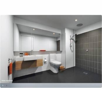 Ville Apartments Parkville Bathroom